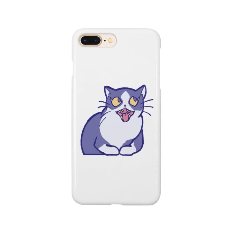 ジャム商店のネチコャン Smartphone cases