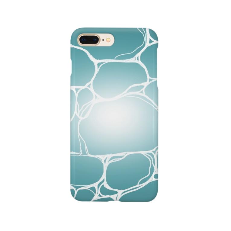 L'amour de Réon (ラムール ド レオン)のコバルトブルーの海 Smartphone cases