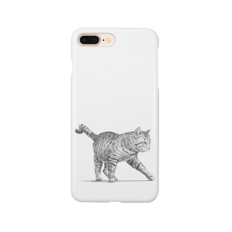 【野良猫の行進】 スマートフォンケース