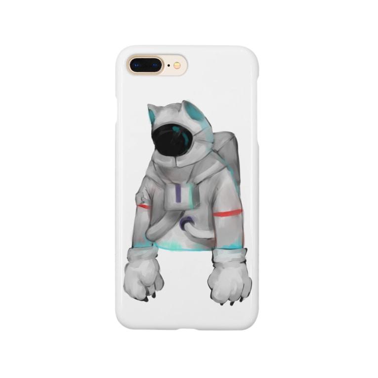 KOHH℃の脱力宇宙猫 Smartphone cases