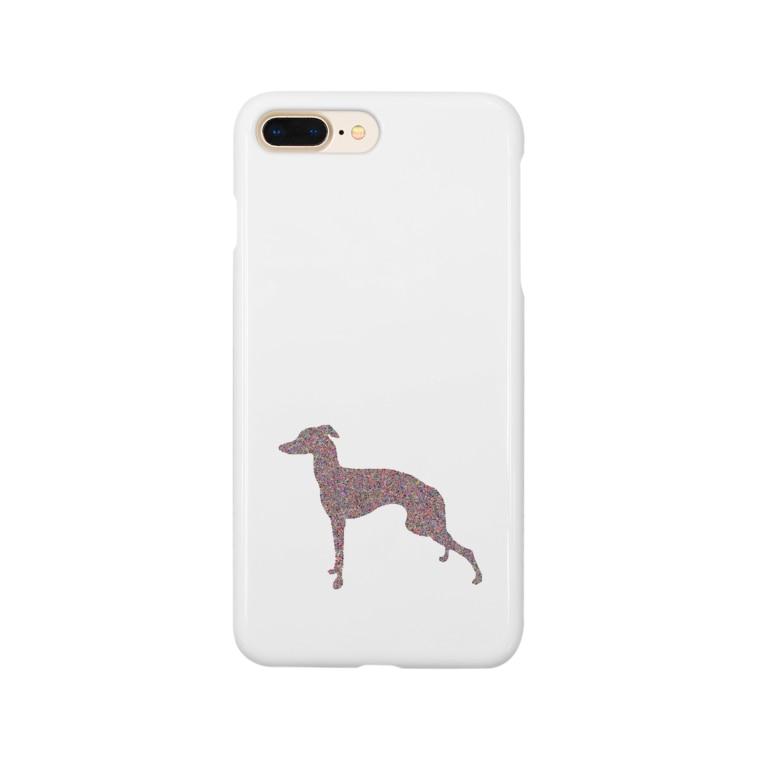 erumaのイタグレコラージュ Smartphone cases