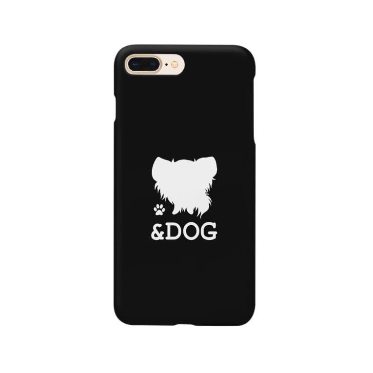 &DOG(BLACK) スマートフォンケース
