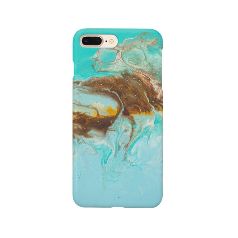 kiyoraのチョコミント Smartphone cases