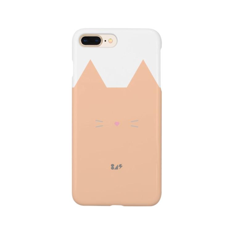 はちよんごのネコスマホ Smartphone cases