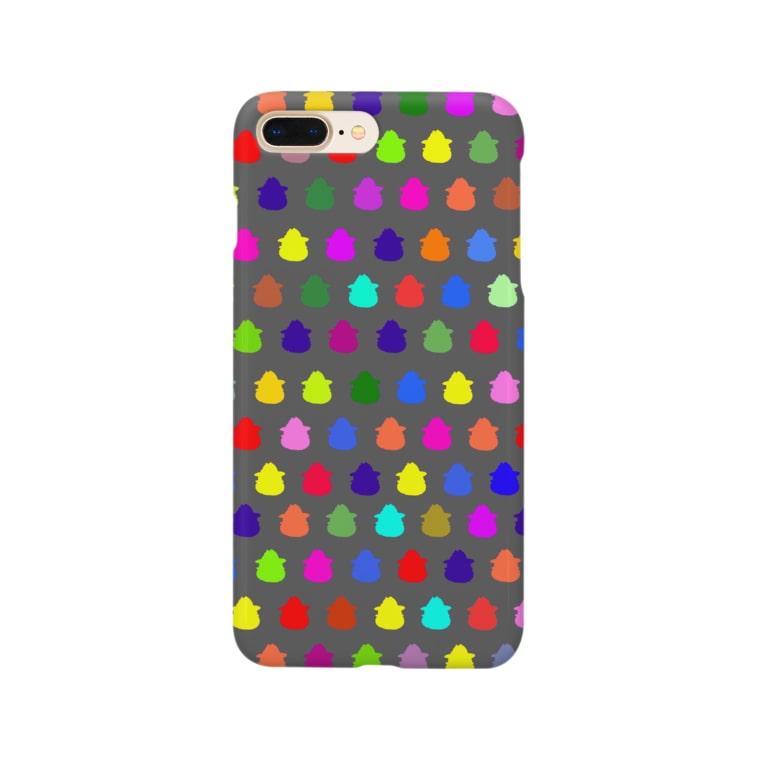 橋口さんのオリジナルグッズのハシグチ Smartphone cases