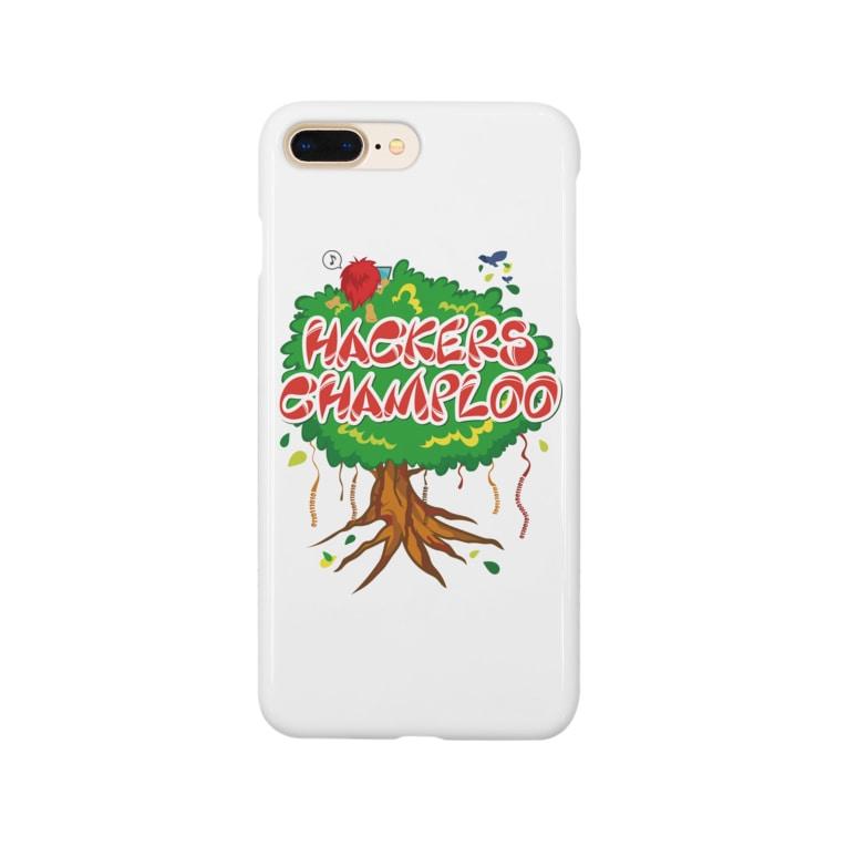 ハッカーズチャンプルーのハッカーズチャンプルー ガジュマル Smartphone cases