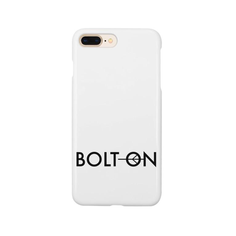 ひげもじやのボルトオン Smartphone cases
