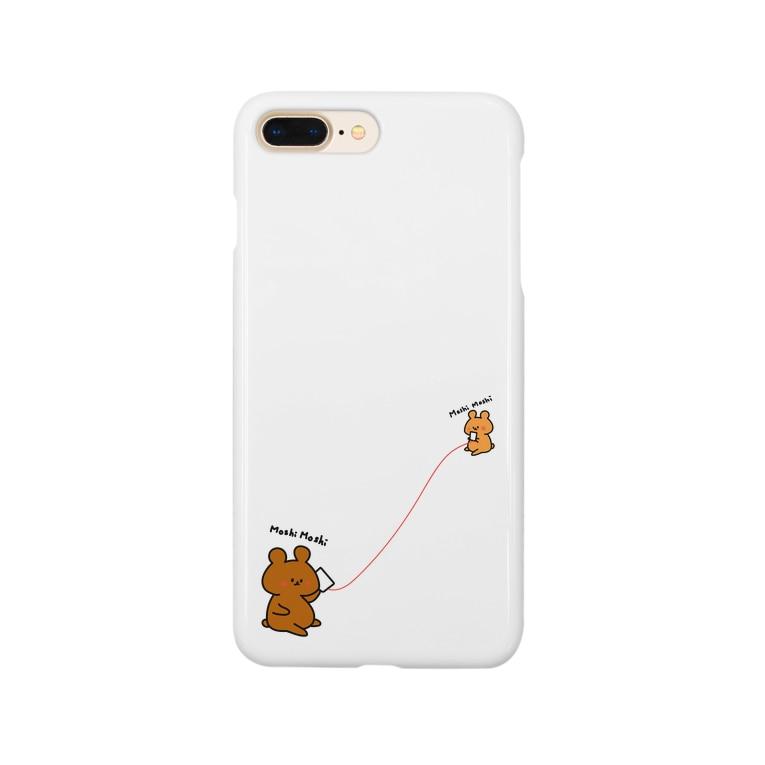 hikari1795のMoshiMoshiくま Smartphone Case