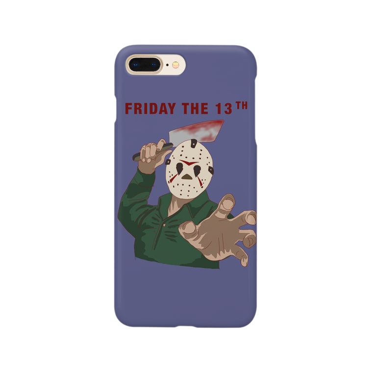 harupii_0203のFriday the 13th Smartphone cases