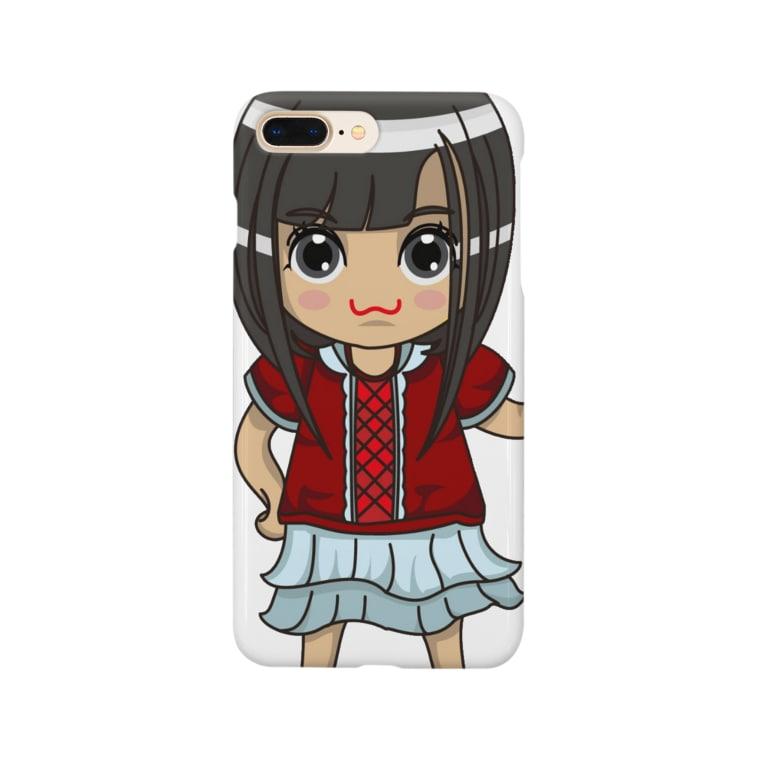 ʚ一ノ瀬 彩 公式 ストアɞのちびキャラ/NORMALTYPE【一ノ瀬彩】 Smartphone cases