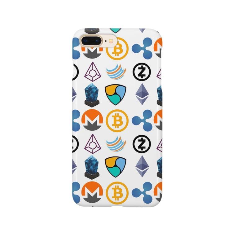 ライターアケミンの仮想通貨Tシャツ Smartphone cases