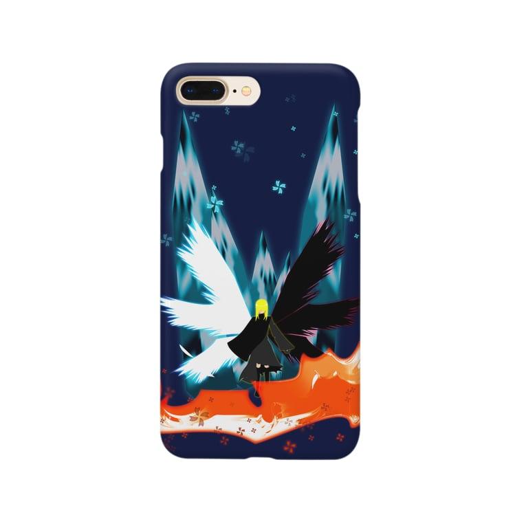 Julia-Allanの二属性(たぶん)天使 Smartphone cases
