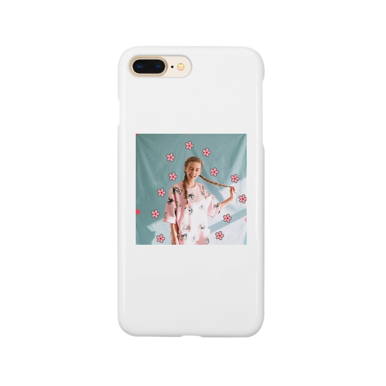 kknngggの可愛いガール Smartphone cases