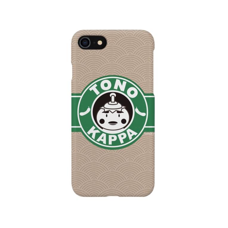 J2の殿かっぱマーク Smartphone cases