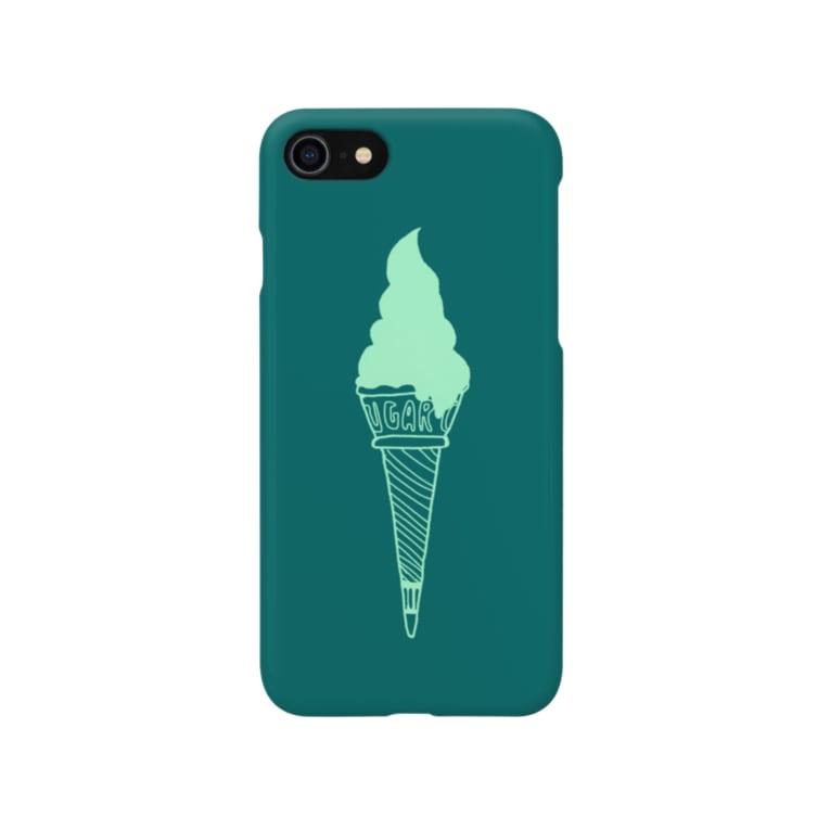 motchamの抹茶ソフト Smartphone cases