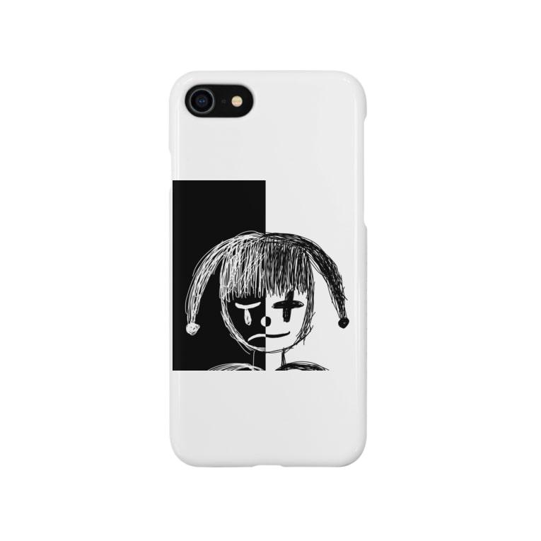 _Midori_のPiero/ピエロ Smartphone cases