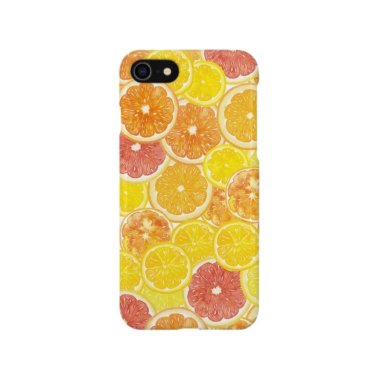さとろくのシトラスiPhoneケース Smartphone cases