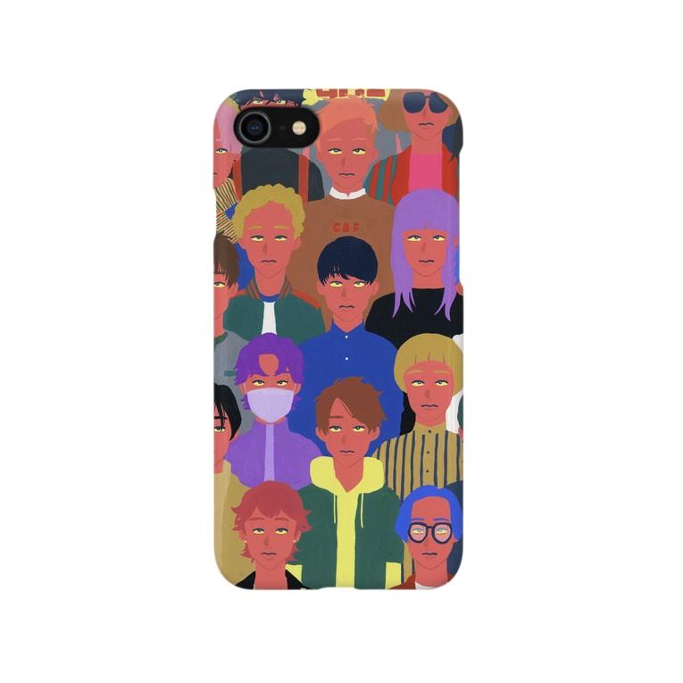 ノーパンのCHERRY BOYS Smartphone cases