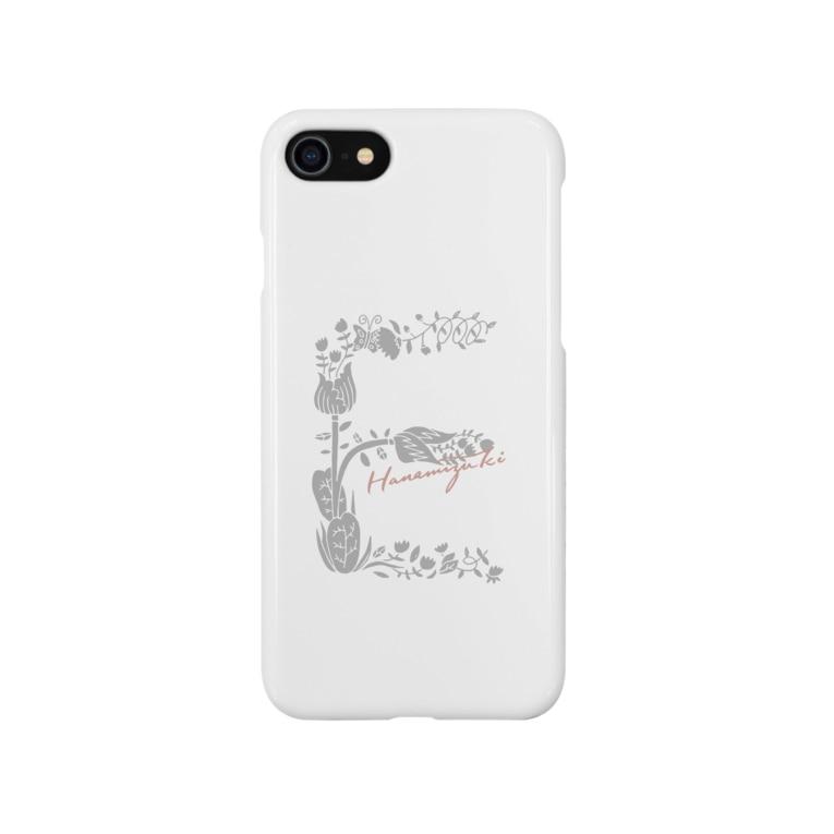 ハナミズキフォント_誕生・結婚・出産祝いのmini_E Smartphone cases