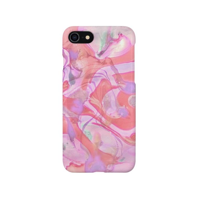 BENの「フラミンゴダンス」 Marble Smartphone cases