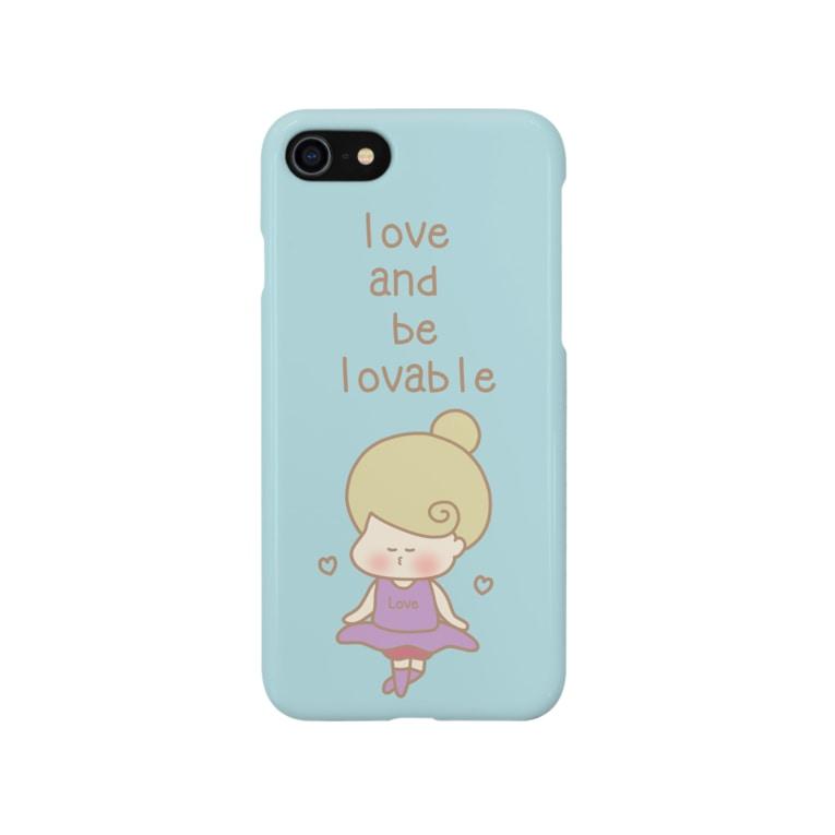 Kana's yururi ギャラリーの愛し、愛らしくあれ。 Smartphone cases