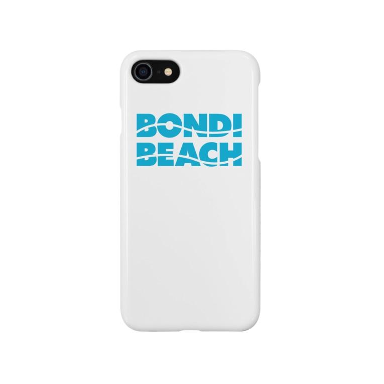 THE BEACHのボンダイビーチ Smartphone cases