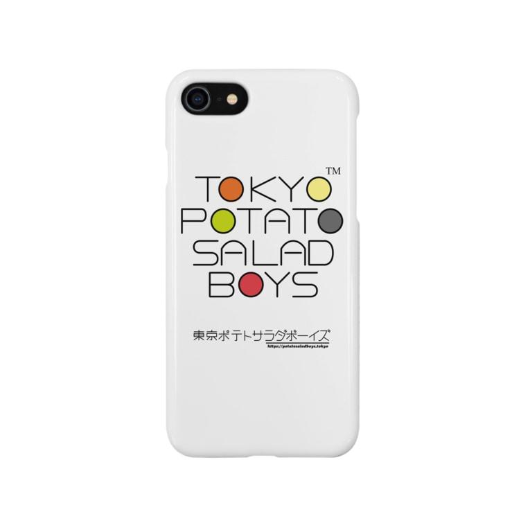 東京ポテトサラダボーイズ公式ショップの東京ポテトサラダボーイズ・マルチカラー公式 Smartphone cases
