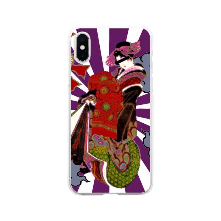 SASALILIの高飛車 Soft clear smartphone cases
