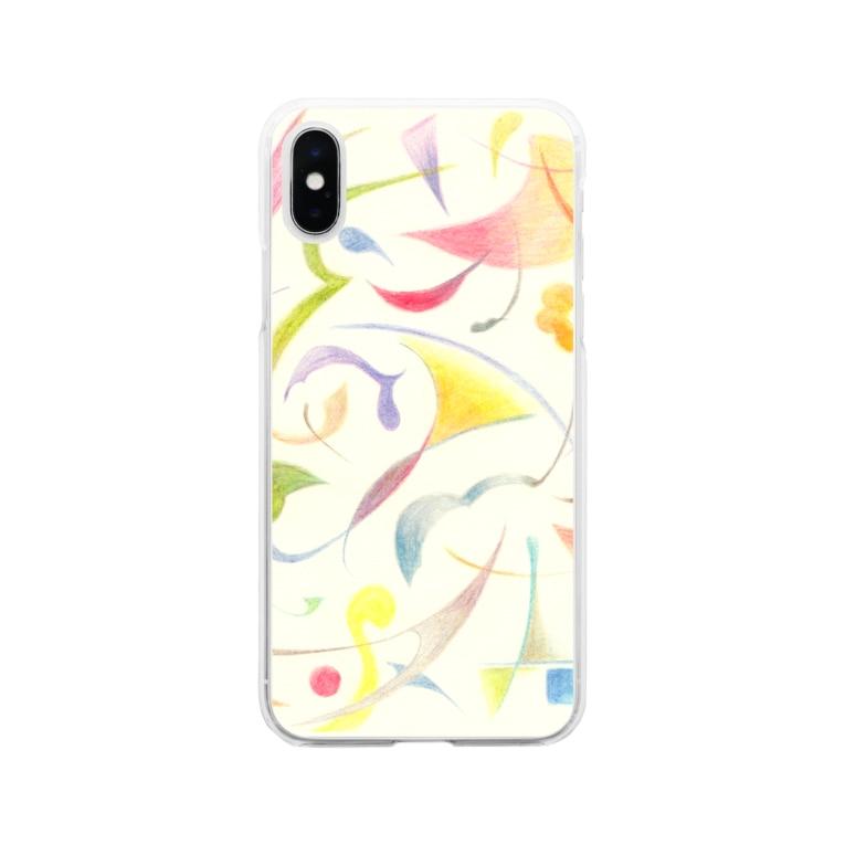 上/うえの楽譜 Soft clear smartphone cases