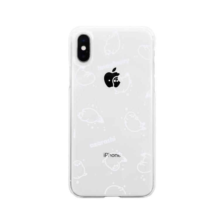 BARE FEET/猫田博人の超架空アザラシ・ケース Soft clear smartphone cases