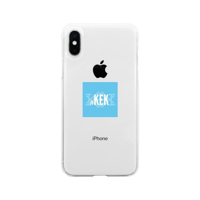 #KEKの#KEK Soft clear smartphone cases