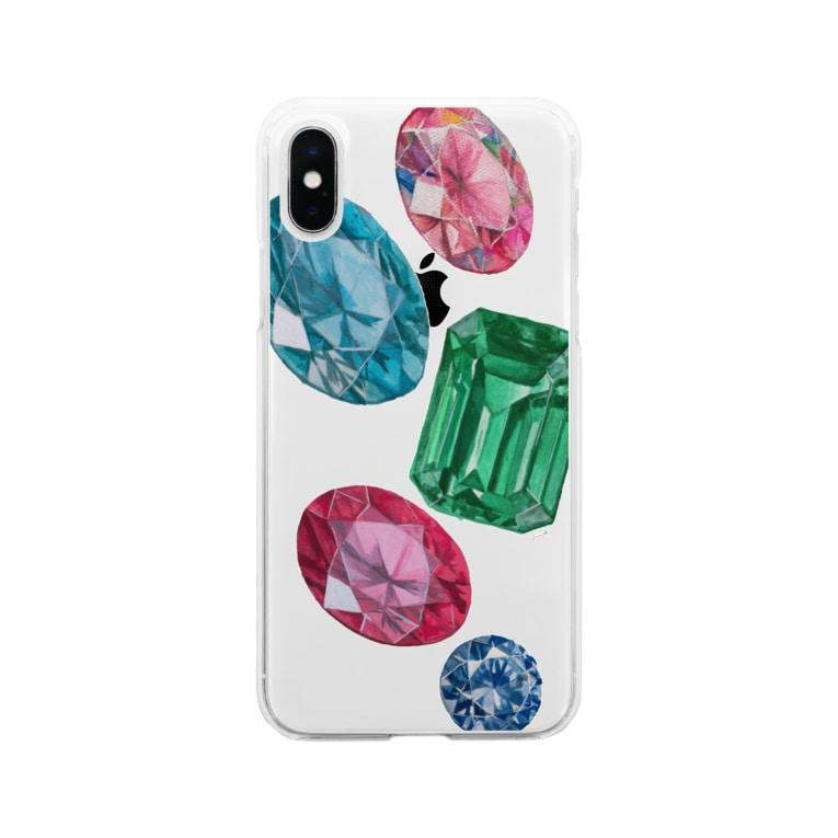 JunnaのPrincess Soft clear smartphone cases