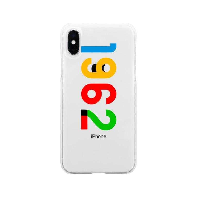 marikiroの1962_西暦 Soft clear smartphone cases