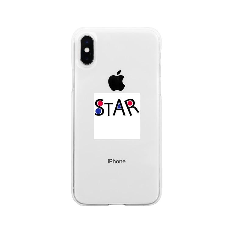 kenta15686のSTARシリーズ Soft clear smartphone cases