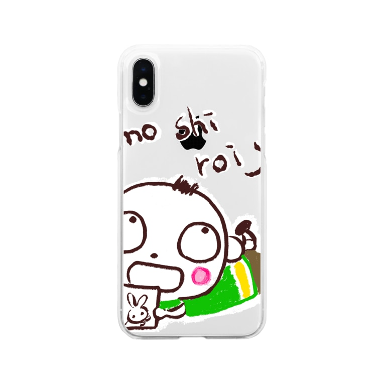 Sachiのおもしろいよくん Soft clear smartphone cases
