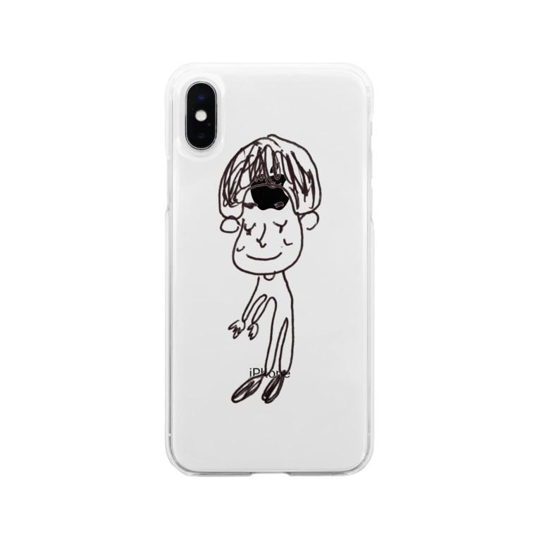 yuppyhappyの僕だよ〜 Soft clear smartphone cases