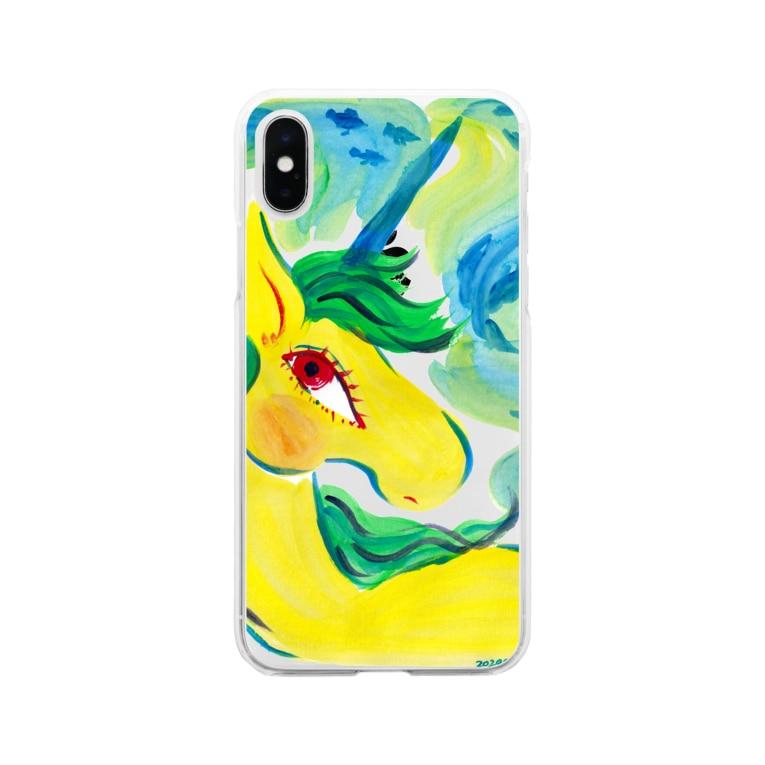 unicorn2018のu187 Soft clear smartphone cases