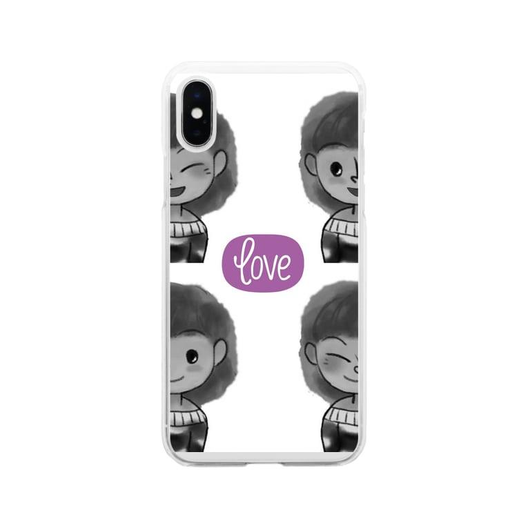 リブログ公式ショップのいろいろノビィ Soft clear smartphone cases