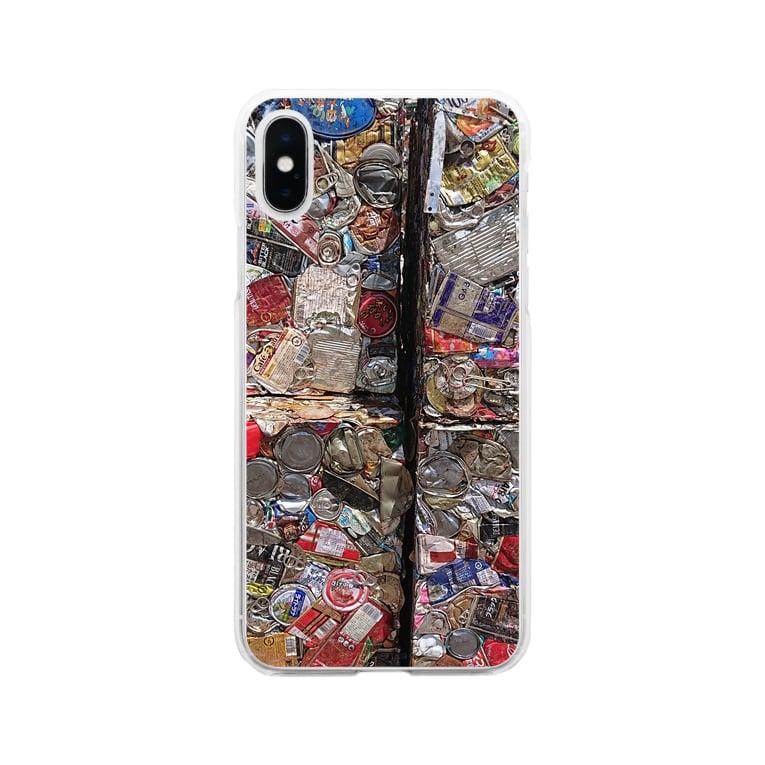 お店屋さんの圧縮 Soft clear smartphone cases