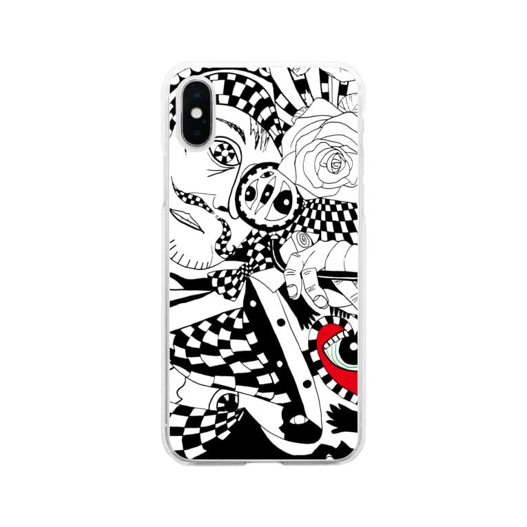 マツザキ茉佳のショップの多角的視点 Soft clear smartphone cases