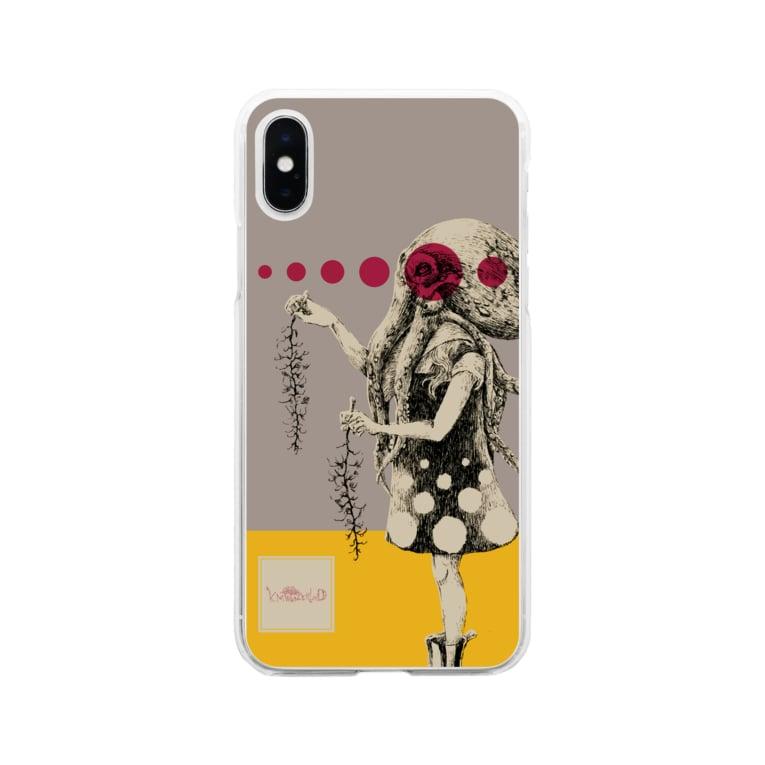 スーパーファンタジー絵描き 松野和貴の化けの皮ータコー Soft clear smartphone cases