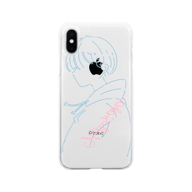 maka【FENNEL】のソフトクリアスマホケース Soft clear smartphone cases