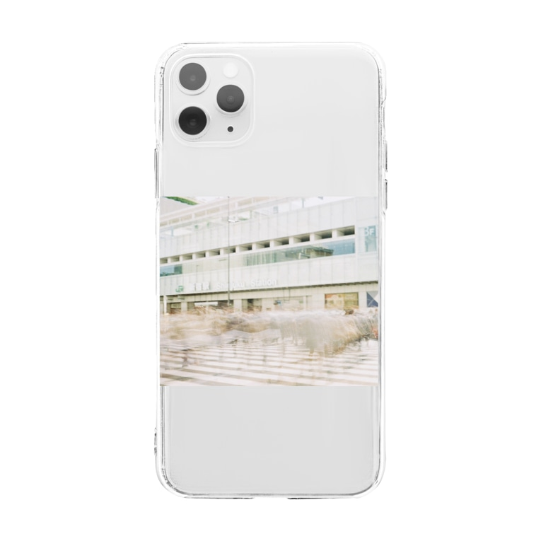 The SongsariのShinjuku loneliness Soft clear smartphone cases
