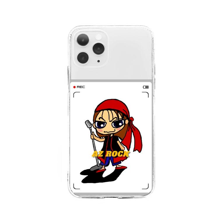 AZ ROCKのAZ ROCK Soft clear smartphone cases
