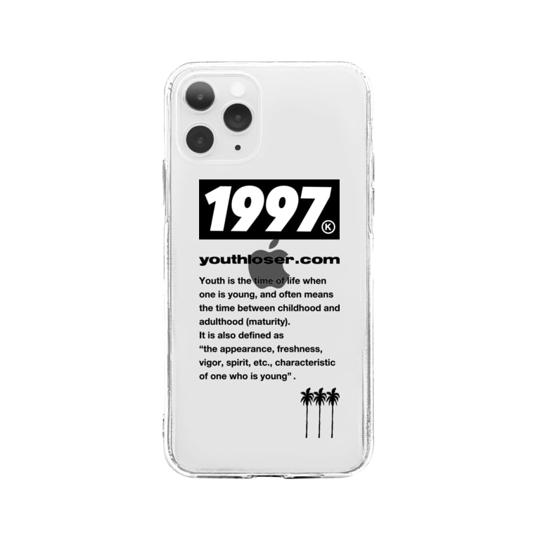 YOUTH LOSERの1997 youth loser palm Soft clear smartphone cases
