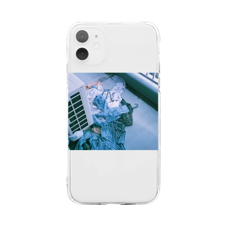 The Songsariのlaundries Soft clear smartphone cases