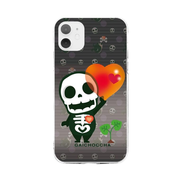 *suzuriDeMonyaa.tag*の愛してガイコッチャ2020  Soft clear smartphone cases