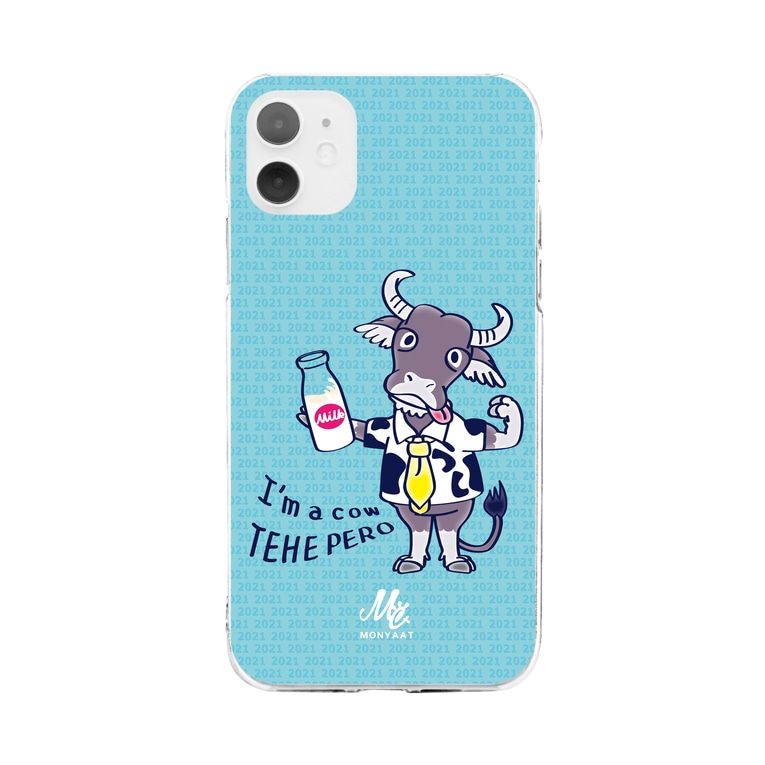 *suzuriDeMonyaa.tag*のCT77水牛*C Soft clear smartphone cases