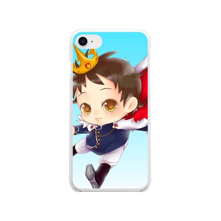 JOSTAR星の王子さま☆僕ちゃんのお店☆のスマホケースかくしゅ★☆ Soft clear smartphone cases