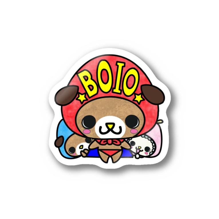 yucca-ticcaのぼいお Stickers